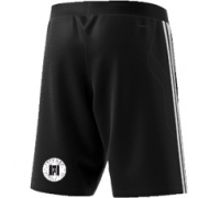 Farnham CC Adidas Black Junior Training Shorts