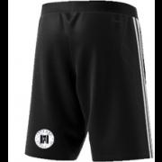 Farnham CC Adidas Black Training Shorts