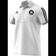 Farnham CC Adidas White Polo