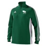 Mersham le Hatch CC Adidas Green Training Top