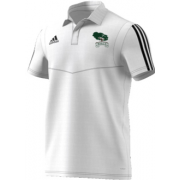 Mersham le Hatch CC Adidas White Polo