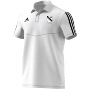 Charnock St James CC Adidas White Polo