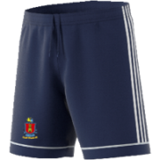 South Weald CC Adidas Navy Junior Training Shorts