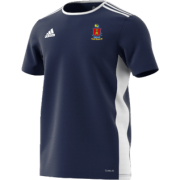 South Weald CC Adidas Navy Junior Training Jersey