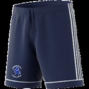 Albrighton CC Adidas Navy Junior Training Shorts
