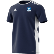 Milton Keynes Stallions CC Adidas Navy Training Jersey