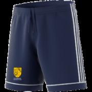 Eynsham CC Adidas Navy Junior Training Shorts