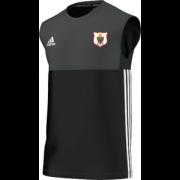 Harlow CC Adidas Black Training Vest