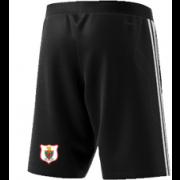 Harlow CC Adidas Black Training Shorts