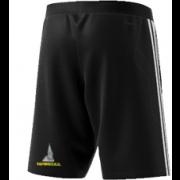 Sedgwick CC Adidas Black Junior Training Shorts