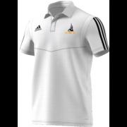 Sedgwick CC Adidas White Polo