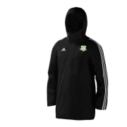 Lindsell CC Black Adidas Stadium Jacket