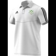 Lindsell CC Adidas White Polo