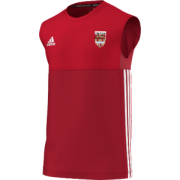 Lancaster University CC Adidas Red Training Vest