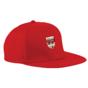 Lancaster University CC Red Snapback Cap