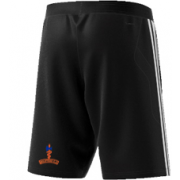 Milstead CC Adidas Black Junior Training Shorts