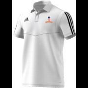 Milstead CC Adidas White Polo