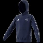 Rosedale Abbey CC Adidas Navy Junior Fleece Hoody