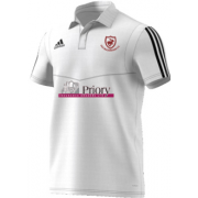 Old Buckenham CC Adidas White Polo