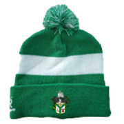 Twickenham CC Green AR Bobble Beanie