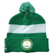 Little Bardfield Village CC Green AR Bobble Beanie