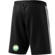 Little Bardfield Village CC Adidas Black Training Shorts