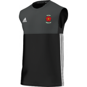 Walkden CC 3rd Team Adidas Black Training Vest