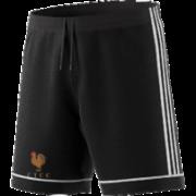 C.T.C.C. Adidas Black Junior Training Shorts