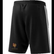 C.T.C.C. Adidas Black Training Shorts