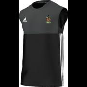 Old Hallowegians CC Adidas Black Training Vest