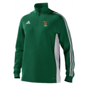 Old Hallowegians CC Adidas Green Training Top
