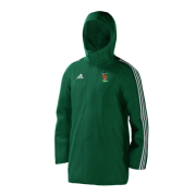Old Hallowegians CC Green Adidas Stadium Jacket