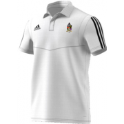Old Hallowegians CC Adidas White Polo