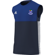 Whalley CC Adidas Navy Training Vest
