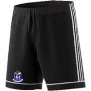 Whalley CC Adidas Black Junior Training Shorts
