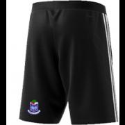 Whalley CC Adidas Black Training Shorts