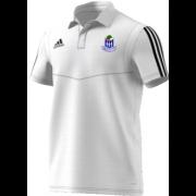 Whalley CC Adidas White Polo