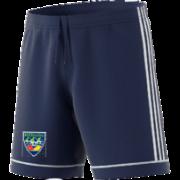 Warriors CC Adidas Navy Junior Training Shorts