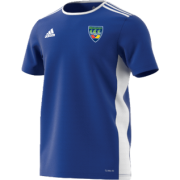 North West Warriors CC Adidas Blue Training Jersey