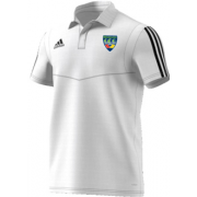 North West Warriors CC Adidas White Polo