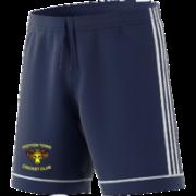 Potton Town CC Adidas Navy Junior Training Shorts