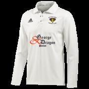 Potton Town CC Adidas Elite L/S Playing Shirt