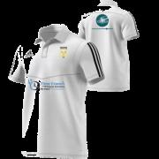 Blaydon CC Adidas White Polo