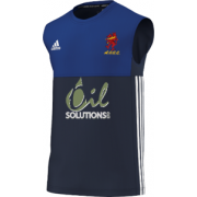 Appleby Eden CC Adidas Navy Training Vest