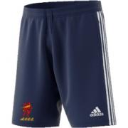 Appleby Eden CC Adidas Navy Junior Training Shorts