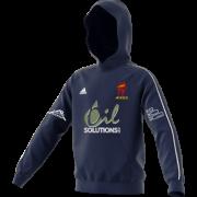 Appleby Eden CC Adidas Navy Junior Fleece Hoody