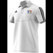 Oakwood Park Grammar School CC Adidas White Polo