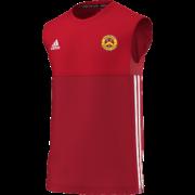 Wheldrake CC Adidas Red Training Vest