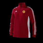 Wheldrake CC Adidas Red Junior Training Top