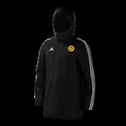 Wheldrake CC Black Adidas Stadium Jacket